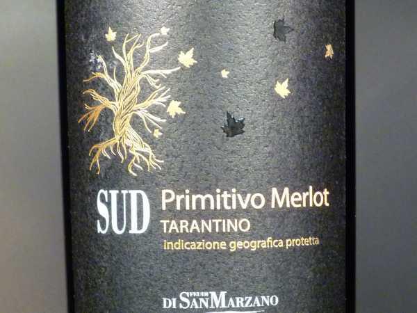 Feudi di San Marzano SUD Primitivo Merlot 2018
