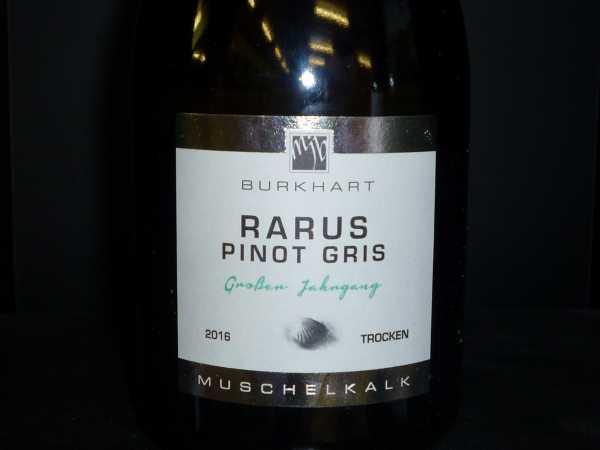Mario J. Burkhart Rarus Pinot Gris GJ 2016 -Restmenge-