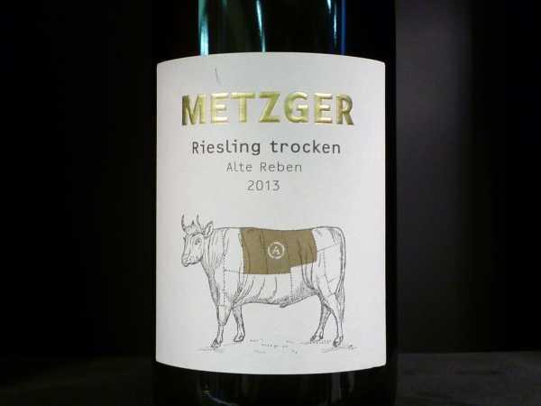 Metzger Sonnenberg Riesling trocken -A- 2013