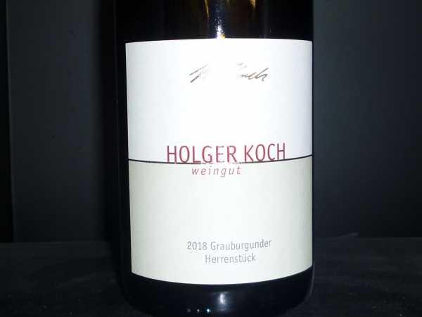 Holger Koch Grauburgunder Herrenstück 2018
