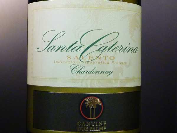 Cantine Due Palme Santa Caterina Chardonnay 2018