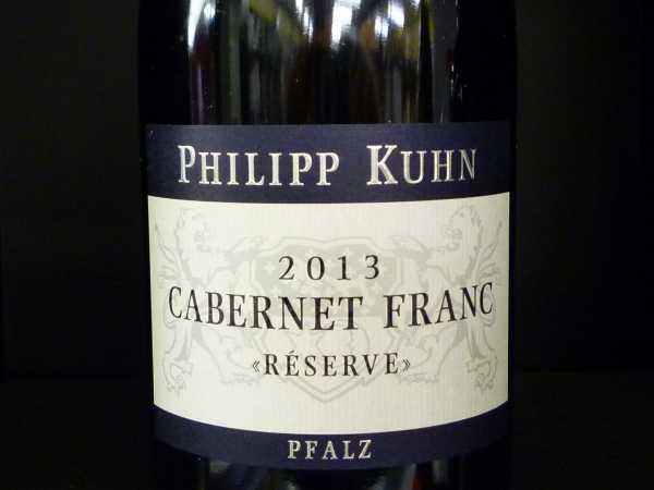 Philipp Kuhn Cabernet Franc 2013 Rèserve