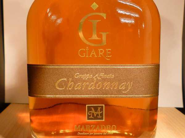 Marzadro Grappa Affinata Chardonnay 0,70 l