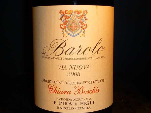 Barolo Via Nuova Pira & Figli Chiara Boschis 2013