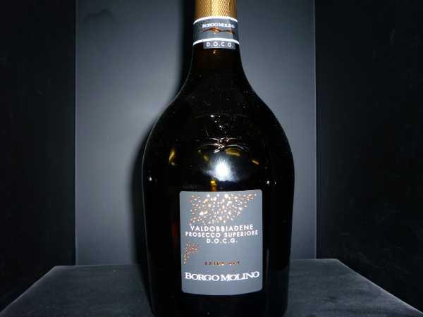 Borgo Molino Prosecco Superiore extra dry Vino Spumante, Valdobbiadene DOCG 0,375l