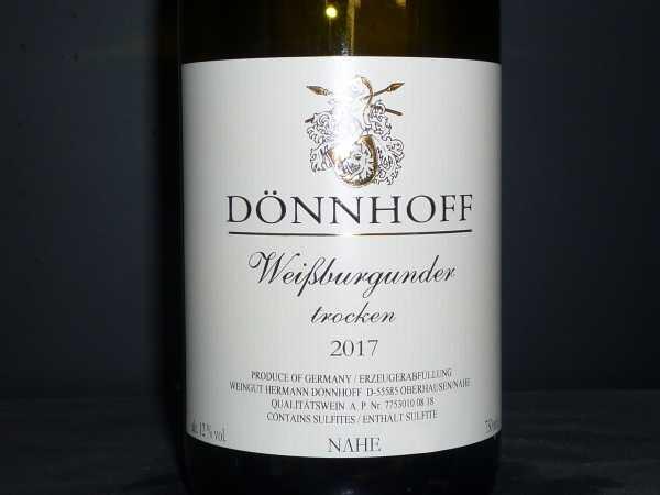 Dönnhoff Weissburgunder trocken 2017