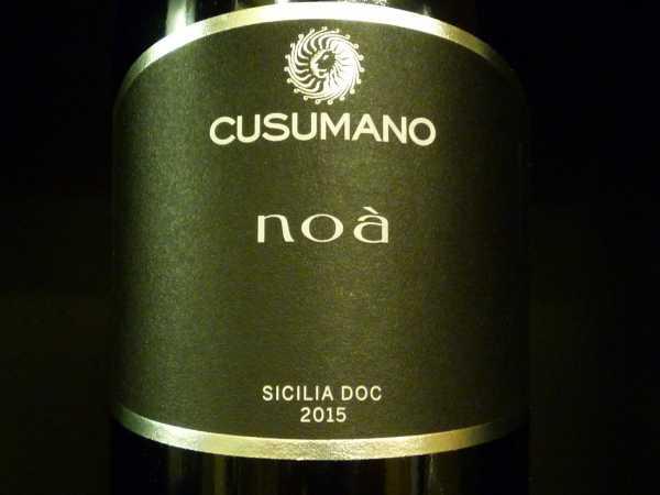 Cusumano Noá Sicilia 2015 -Restmenge-