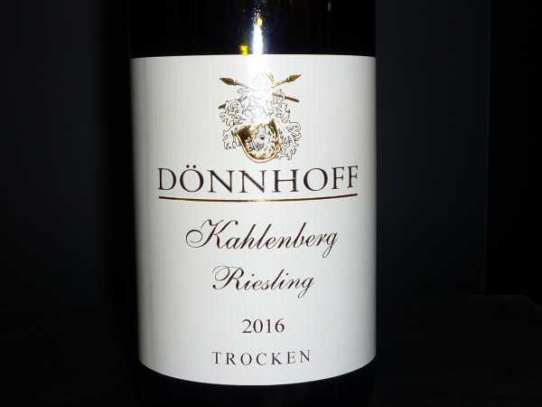 Dönnhoff Kreuznacher Kahlenberg Riesling trocken 2016 -Restmenge-