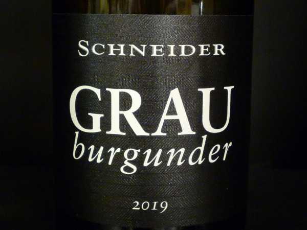 Schneider Markus Grauburgunder trocken Ellerstadt 2019