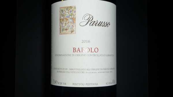 Barolo Parusso 2016