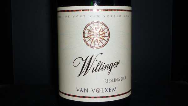 Van Volxem Wiltinger Riesling 2019 -Restmenge-
