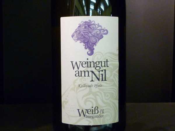 Weingut am Nil - Weissburgunder trocken 2017