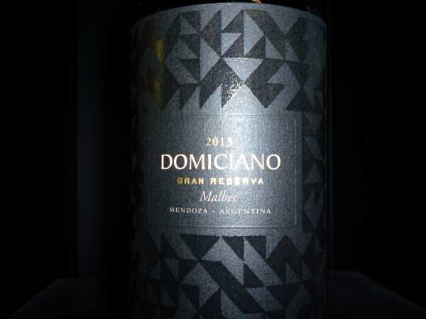 Domiciano Malbec Gran Reserva 2013 Limited Edition -Restmenge-