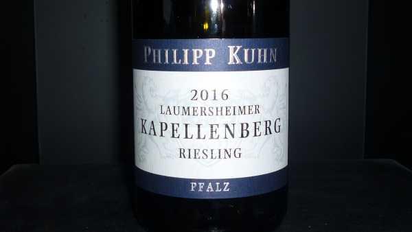 Philipp Kuhn Riesling Kapellenberg Alte Reben Erste Lage trocken 2016 -Restmenge-