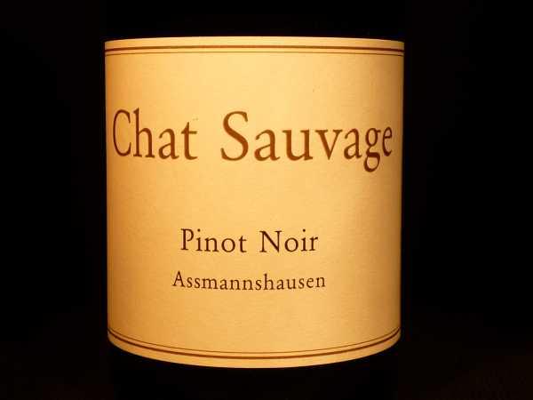 Chat Sauvage Pinot Noir Assmannshäuser Ortswein 2013