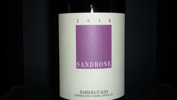 Sandrone Luciano Barbera Magnum 2018 1,5l