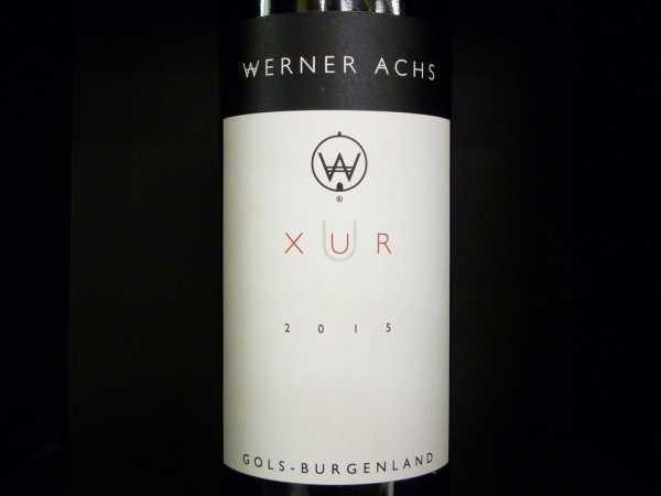 Achs Werner Cuvee XUR 2015 -Restmnge-