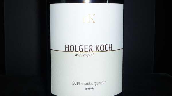 Holger Koch Grauburgunder *** Selection2019