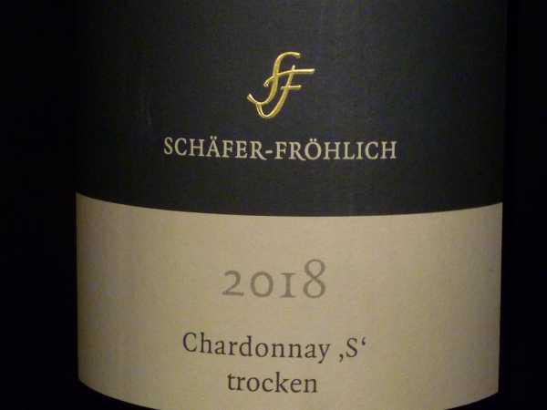 Schäfer-Fröhlich Chardonnay S 2018