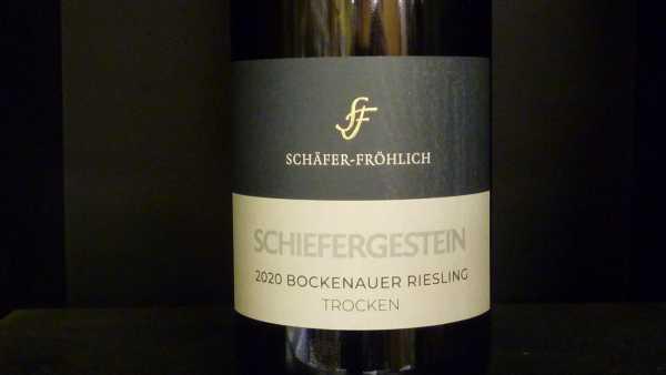 Schäfer-Fröhlich Bockenheimer Schiefergestein Riesling trocken 2020