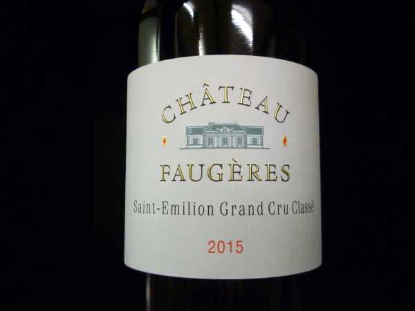 Château Faugères 2015 Saint-Emilion Grand cru classé