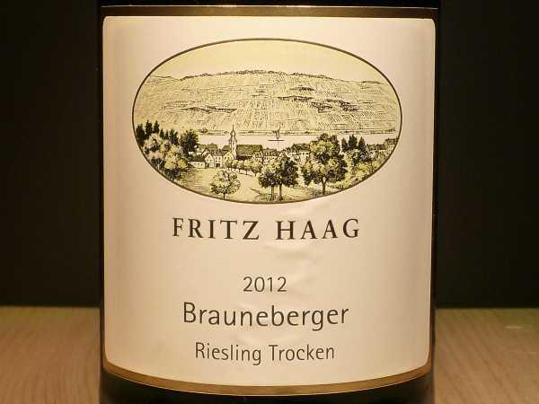 Fritz Haag Brauneberger J Riesling trocken 2017