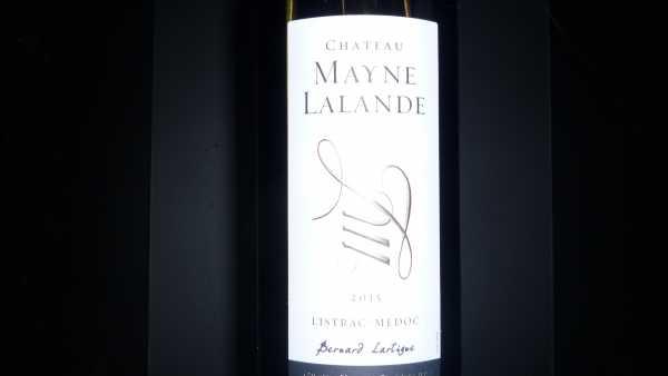 Château Mayne Lalande 2015