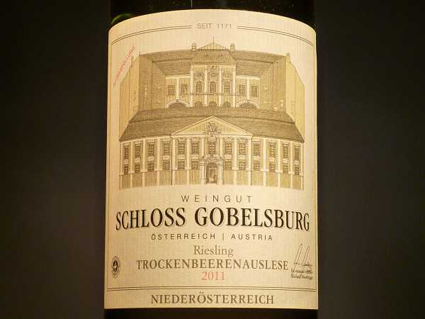 Schloss Gobelsburg Riesling TBA Trockenbeerenauslese 2015