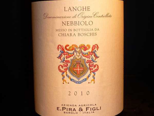 Nebbiolo Langhe E. Pira & Figli Chiara Boschis 2015 Magnum