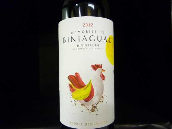 """Biniagual """"Memòries de Biniagual"""" Negre 2013"""