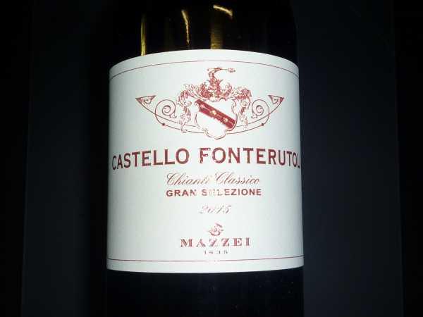 Mazzei Castello Fonterutoli Chianti Gran Selezione 2015
