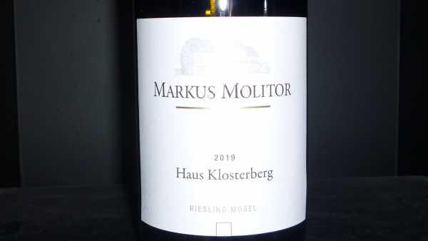 Markus Molitor Riesling Haus Klosterberg 2019