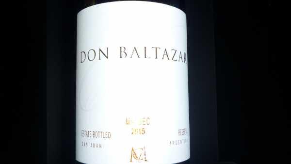 Casa Montes Don Baltazar Malbec Reserva 2015