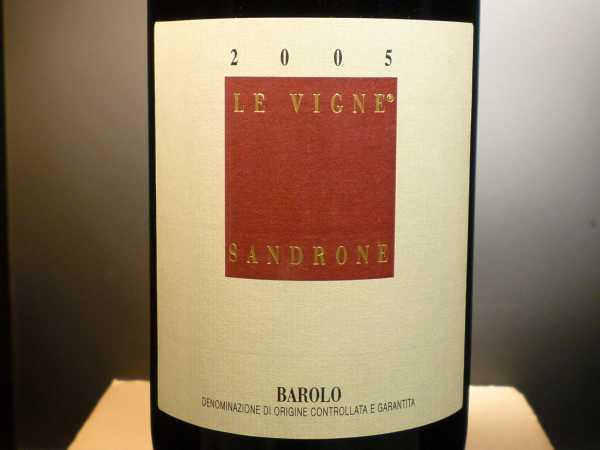 Sandrone Luciano Barolo Le Vigne 2011 -Restmenge-