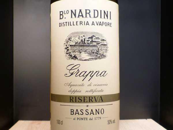 Nardini Riserva Bassano Acquavite di Vinaccia 1 ltr