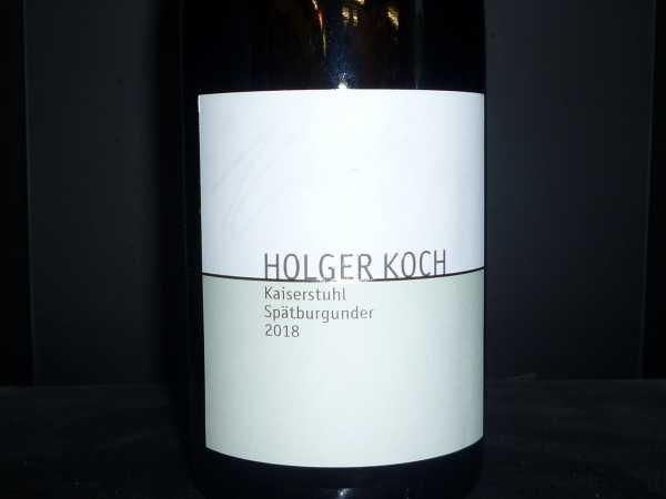 Holger Koch Spätburgunder Kaiserstuhl 2018 -Restmenge-