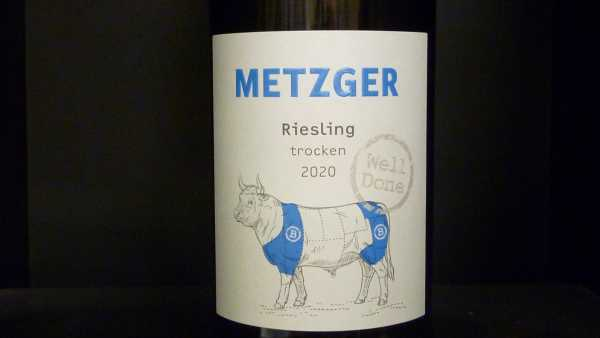 Metzger Well Done Riesling QbA 2020