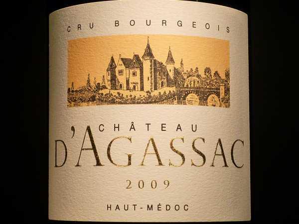 Chat. Agassac Haut-Médoc 2011