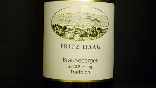Fritz Haag Brauneberger Riesling Tradition feinherb 2020