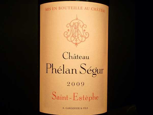 Chat. Phelan Segur Saint-Estèphe Cru Bourgeois 2012