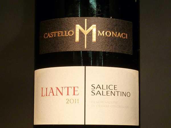 Salice Salentino Liante Castello Monaci 2017
