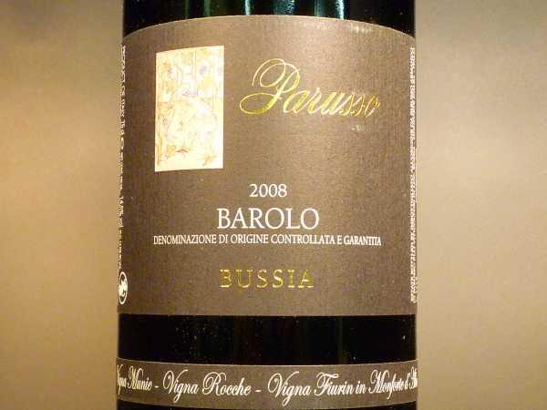 Barolo Parusso Bussia 2012