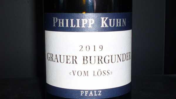 Philipp Kuhn Grauer Burgunder vom Löss trocken 2019