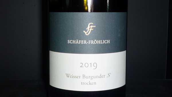 Schäfer-Fröhlich Weisser Burgunder S 2019