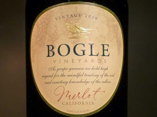 Bogle Vineyards Merlot California 2012
