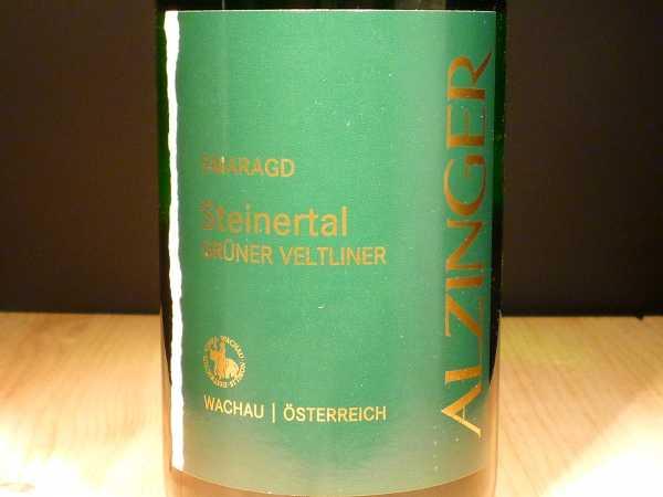 Alzinger Grüner Veltliner Smaragd Steinertal 2017