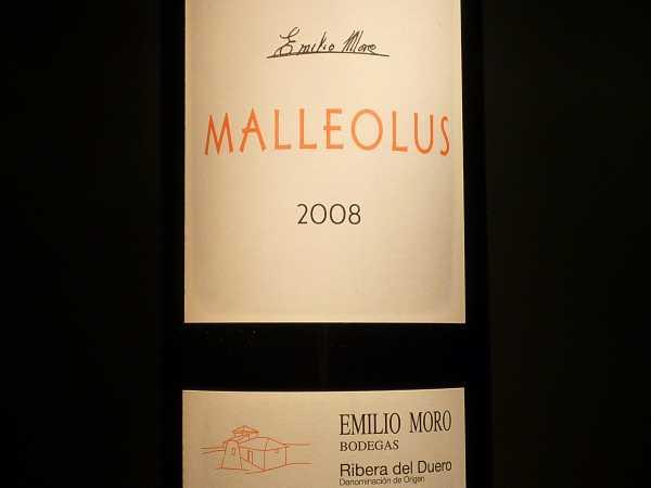 Emilio Moro Malleolus 2016