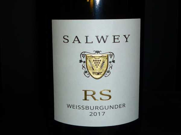 Salwey Weißburgunder RS 2017 -Restmenge-