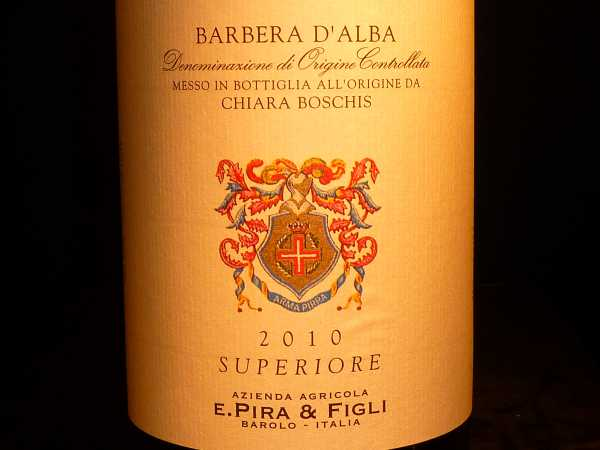 Barbera Alba Superior E. Pira & Figli Chiara Boschis 2016