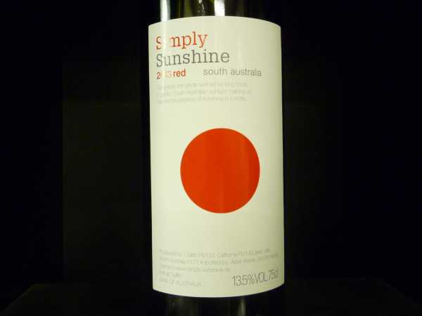 Simply Sunshine Red South Australia Mc Laren Vale Preisleistung!!!!!! 2013